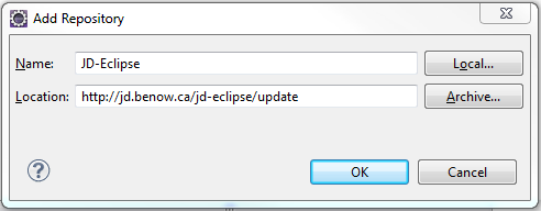 How to install Java Decompiler for Eclipse